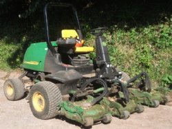 Ride-on mower training courses in Devon & South  West with Hush Farms.