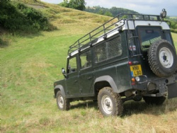 Lantra & NPTC 4x4 off road training in Devon, Dorset, Somerset and South West