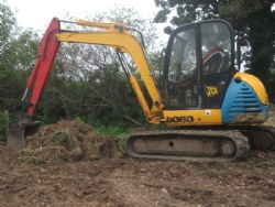 Excavator training in Devon and South West with Hush Farms based in Devon. Digger training throughout the South West.